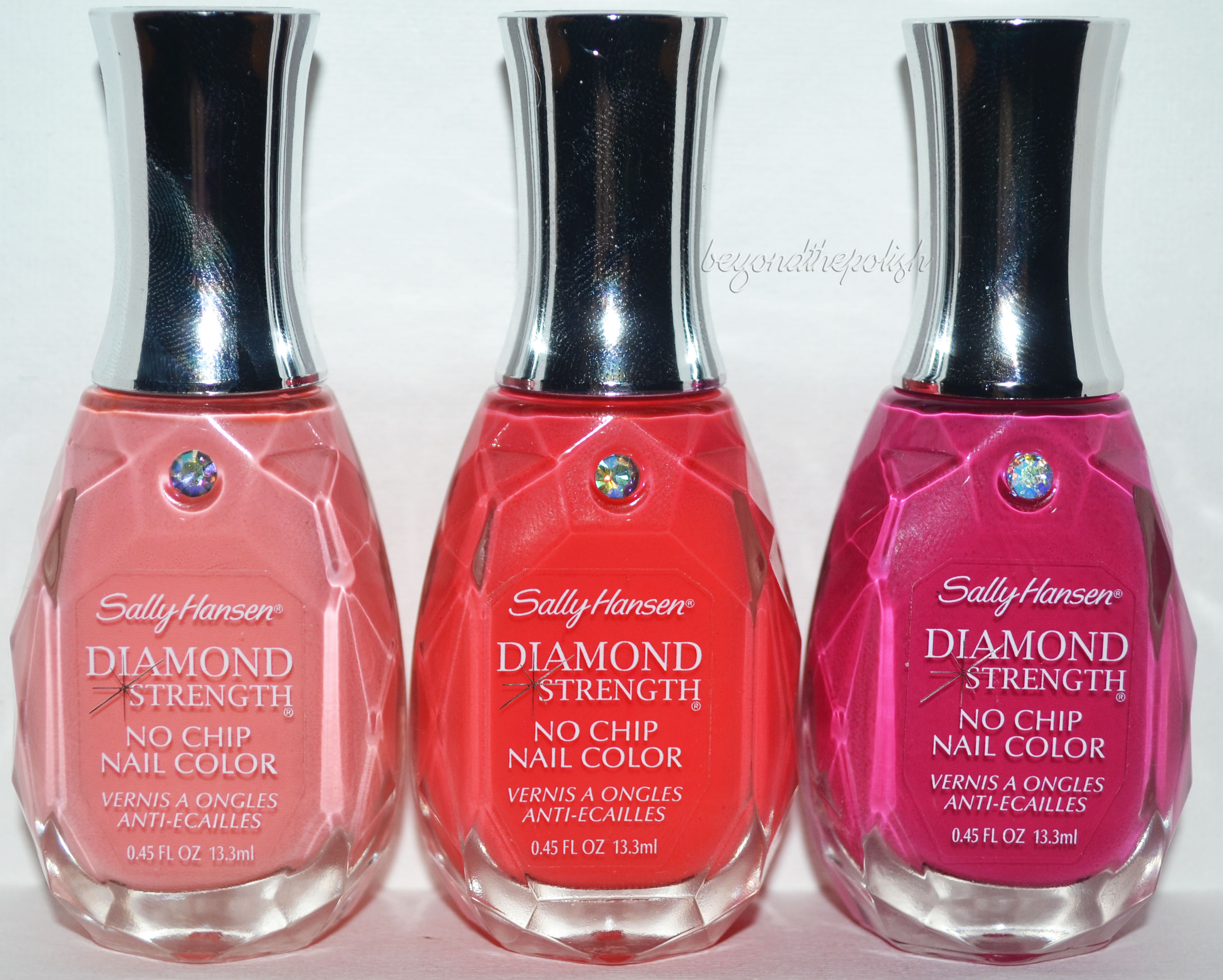 Sally Hansen Diamond Strength Nail Colour (Swatches and Review ...